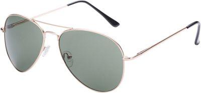 Modern Eyewear Co Thin Metal Round Aviator Sunglasses Metal Round Aviator Green - Modern Eyewear Co Eyewear