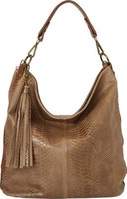 Massimo Castelli Shoulder Bag Taupe - Massimo Castelli Leather Handbags