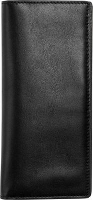 Skagen Slim Vertical Leather Wallet Black - Skagen Women's Wallets