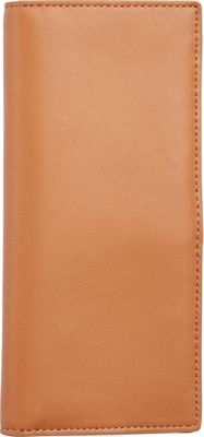Skagen Slim Vertical Leather Wallet Tan - Skagen Women's Wallets