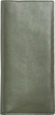 Skagen Slim Vertical Leather Wallet Agave - Skagen Women's Wallets
