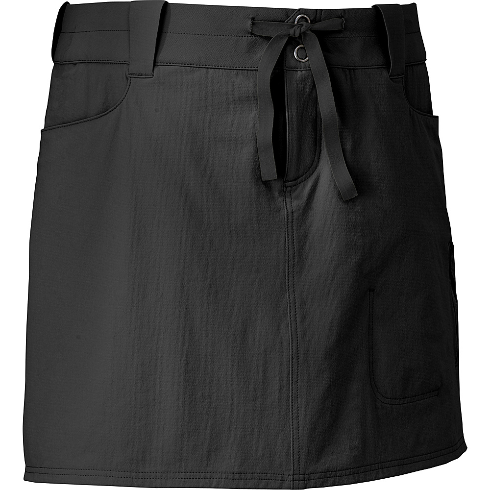 Outdoor Research Womens Ferrosi Skort 8 - Black - Outdoor Research Womens Apparel - Apparel & Footwear, Women's Apparel