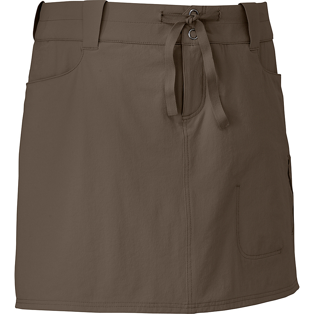 Outdoor Research Womens Ferrosi Skort 10 - Mushroom - Outdoor Research Womens Apparel - Apparel & Footwear, Women's Apparel