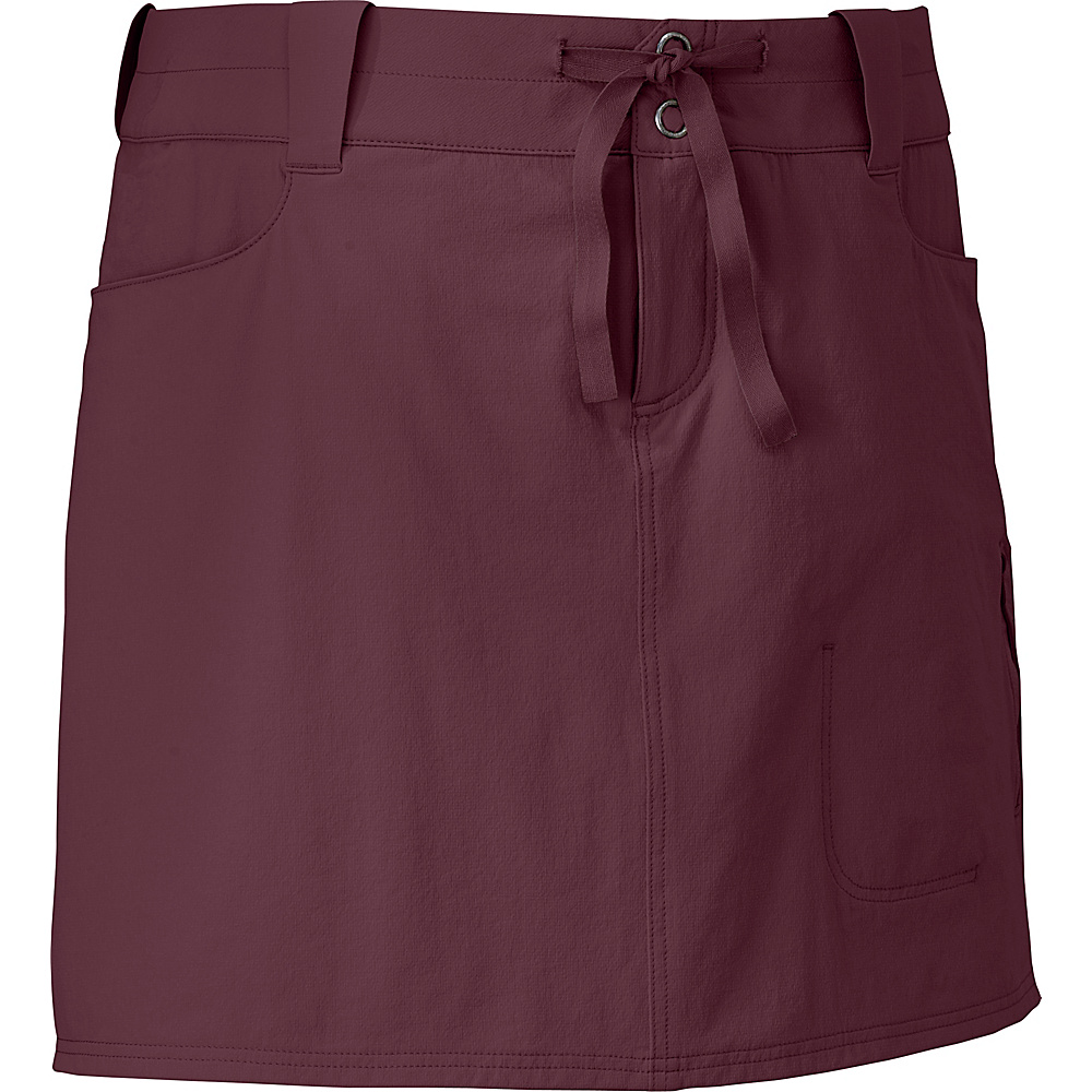 Outdoor Research Womens Ferrosi Skort 10 - Pinot - Outdoor Research Womens Apparel - Apparel & Footwear, Women's Apparel