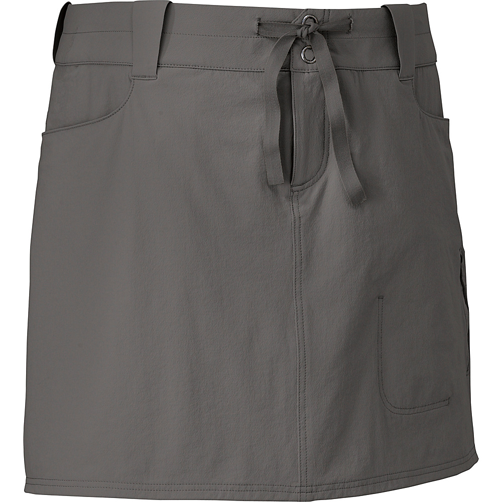 Outdoor Research Womens Ferrosi Skort 8 - Pewter - Outdoor Research Womens Apparel - Apparel & Footwear, Women's Apparel