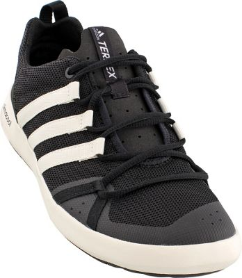 adidas outdoor Mens Terrex Climacool Boat Shoe 6 - Black/Chalk White/Black - adidas outdoor Men's Footwear