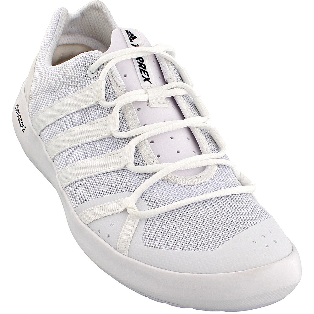 adidas outdoor Mens Terrex Climacool Boat Shoe 9.5 - White/White/Black - adidas outdoor Mens Footwear - Apparel & Footwear, Men's Footwear