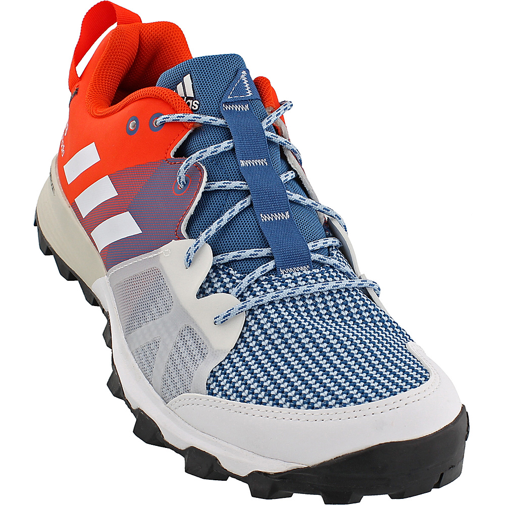 adidas outdoor Mens Kanadia 8 TR Shoe 8 - Core Blue/White/Energy - adidas outdoor Mens Footwear - Apparel & Footwear, Men's Footwear