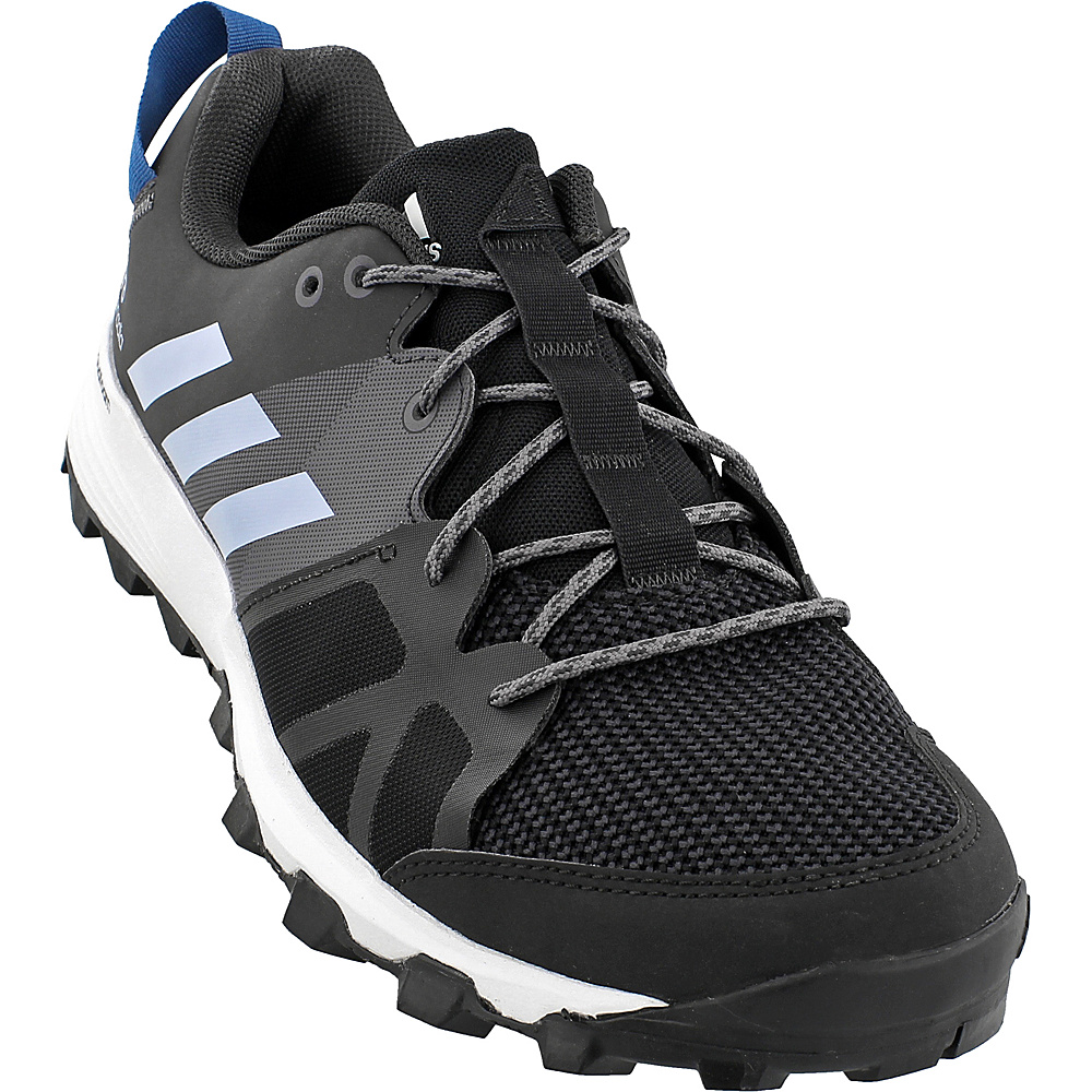 adidas outdoor Mens Kanadia 8 TR Shoe 14 - Black/Easy Blue/Trace Grey - adidas outdoor Mens Footwear - Apparel & Footwear, Men's Footwear