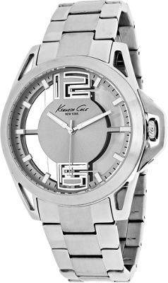 Kenneth Cole Watches Men's Transparency Watch Silver - Kenneth Cole Watches Watches