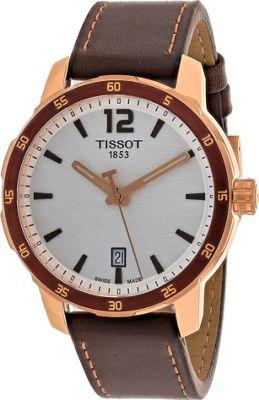 Tissot Watches Men's Quickster Watch Silver - Tissot Watches Watches