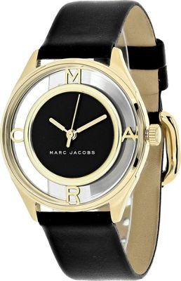 Marc Jacobs Watches Women's Tether Watch Black - Marc Jacobs Watches Watches