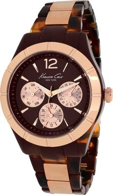 Kenneth Cole Watches Women's Classic Watch Brown - Kenneth Cole Watches Watches