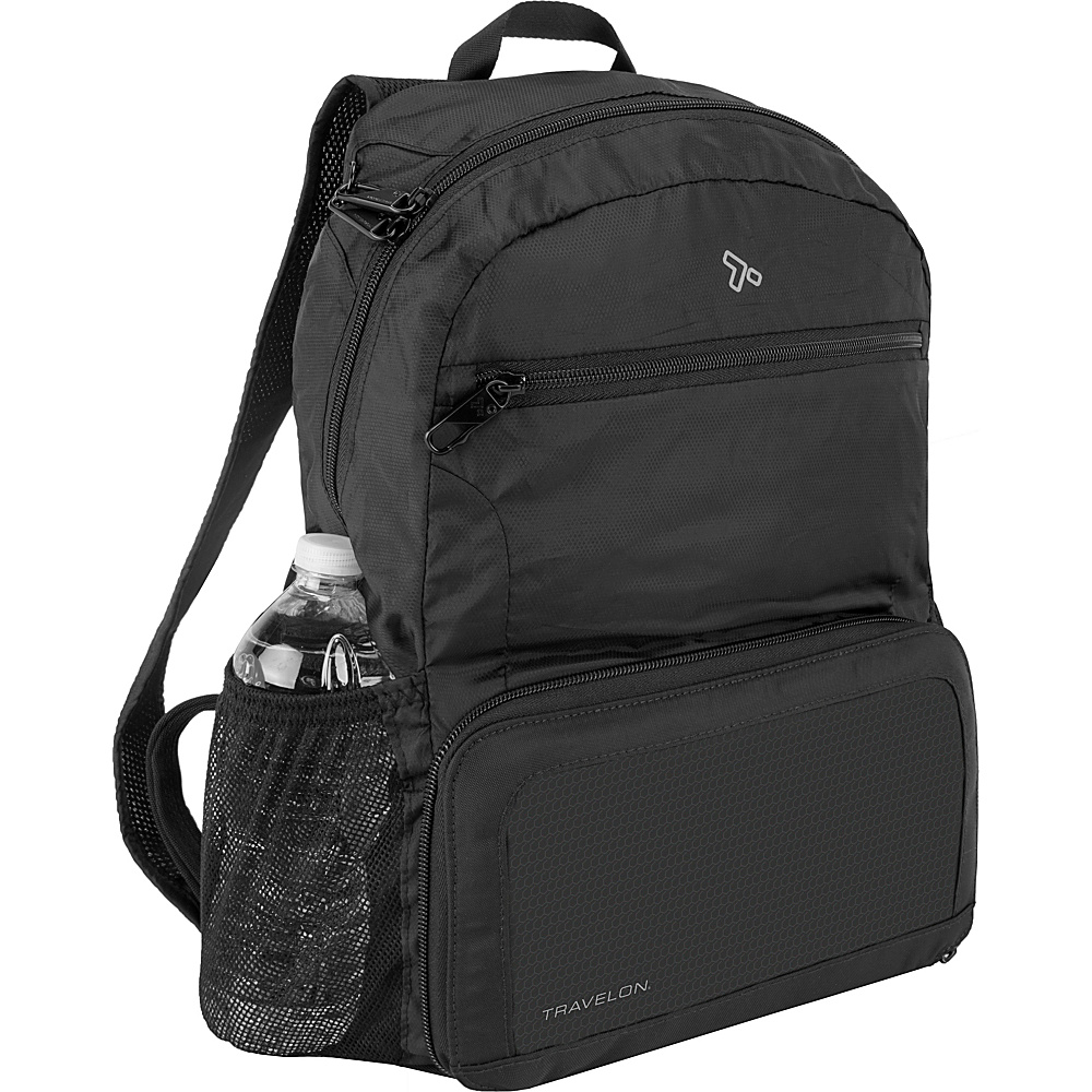 Travelon Anti-Theft Active Packable Backpack Black - Travelon Packable Bags - Travel Accessories, Packable Bags