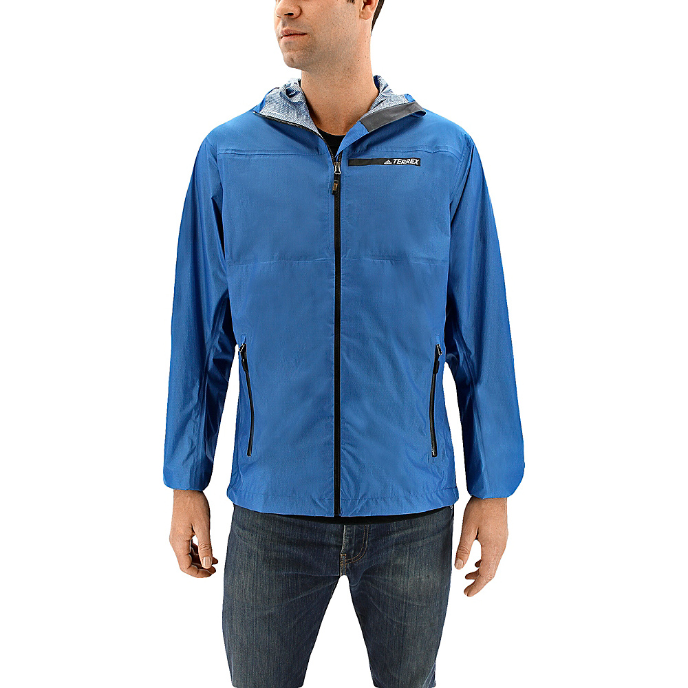 adidas outdoor Mens Fastpack 2.5l Jacket L - Core Blue - adidas outdoor Mens Apparel - Apparel & Footwear, Men's Apparel