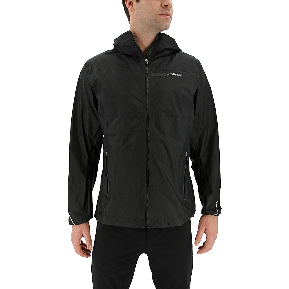 adidas outdoor Mens Fastpack 2.5l Jacket XL - Black - adidas outdoor Mens Apparel - Apparel & Footwear, Men's Apparel