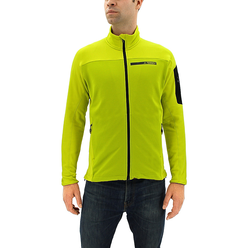 adidas outdoor Mens Terrex Stockhorn Jacket S - Unity Lime - adidas outdoor Mens Apparel - Apparel & Footwear, Men's Apparel