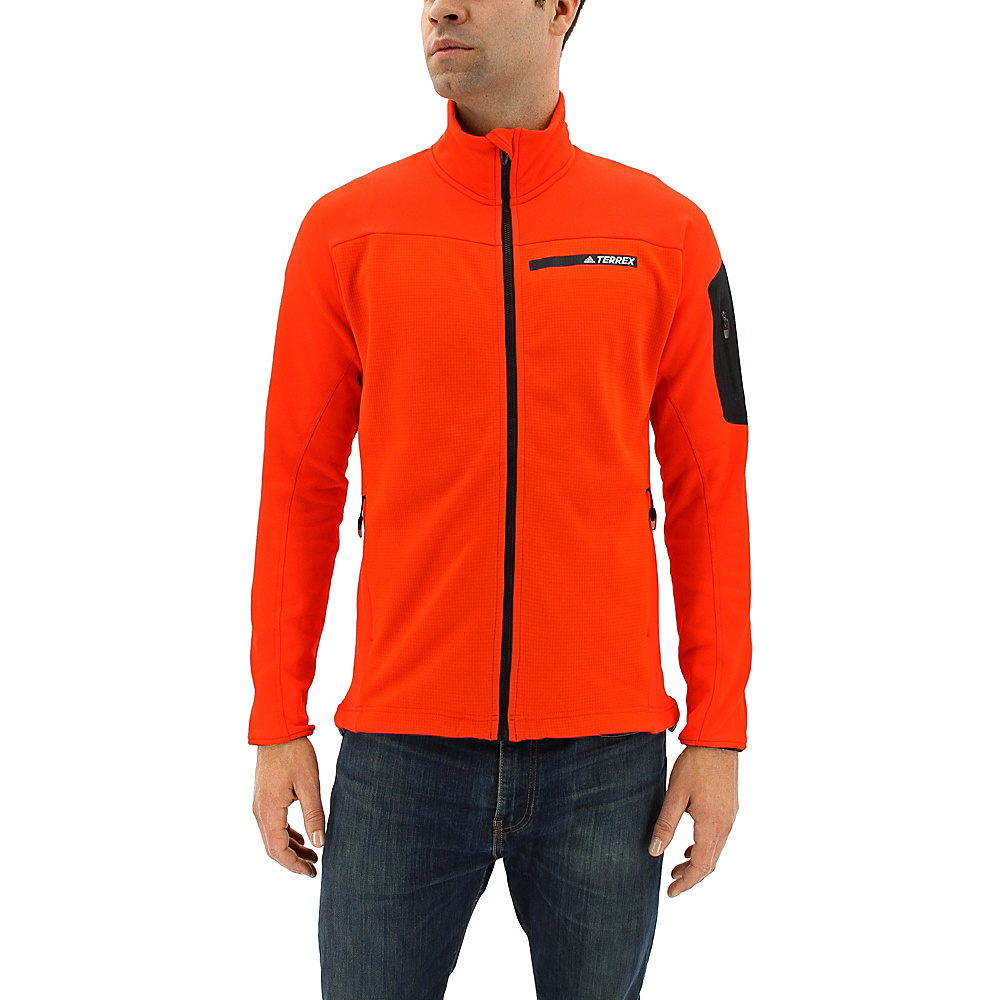 adidas outdoor Mens Terrex Stockhorn Jacket 2XL - Energy - adidas outdoor Mens Apparel - Apparel & Footwear, Men's Apparel
