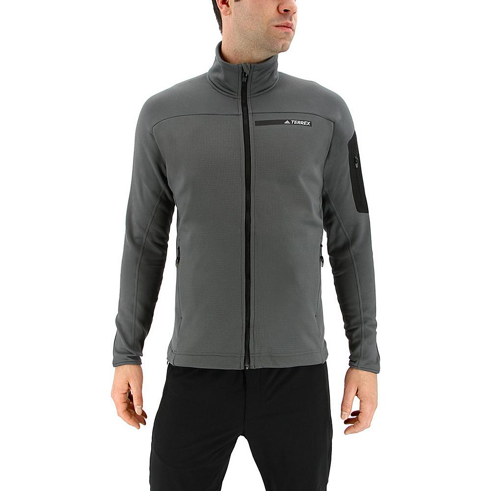 adidas outdoor Mens Terrex Stockhorn Jacket S - Grey Five - adidas outdoor Mens Apparel - Apparel & Footwear, Men's Apparel