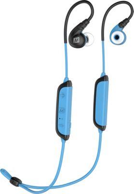 MEE Audio X8 Secure-Fit Stereo Bluetooth Wireless Sports In-Ear Headphones Blue - MEE Audio Headphones & Speakers