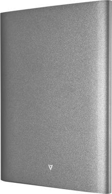 V7 Ultra-Slim 17,000 mAh Dual USB Powerbank Silver - V7 Portable Batteries & Chargers