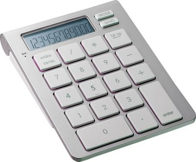 SMK-Link Bluetooth Calculator Keypad Silver - SMK-Link Business Accessories