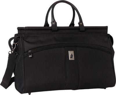 London Fog Wellington 360 Ultra-Lightweight 19 inch Doctor Bag Black - London Fog Luggage Totes and Satchels