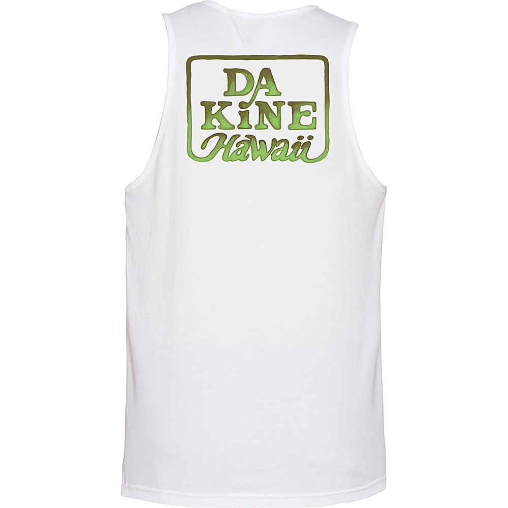 DAKINE Mens Classic Brush Tank M - White Tropical - DAKINE Mens Apparel - Apparel & Footwear, Men's Apparel
