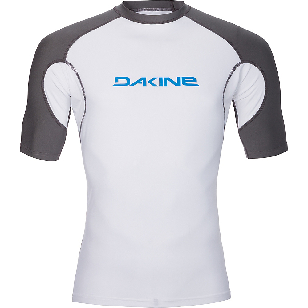 DAKINE Mens Heavy Duty Snug Fit Short Sleeve XXL - White - DAKINE Mens Apparel - Apparel & Footwear, Men's Apparel