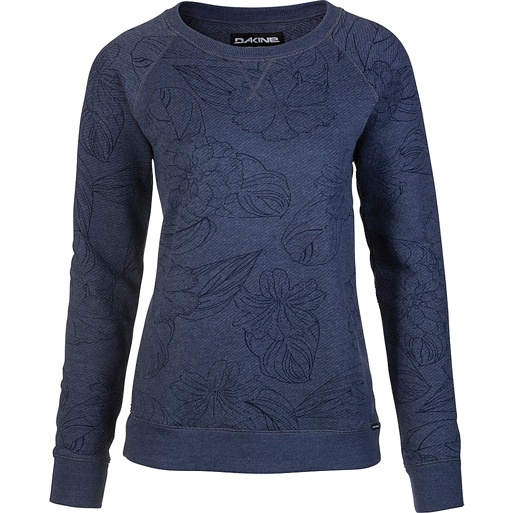DAKINE Womens Laurel Crew Neck Fleece M - Pualani - DAKINE Womens Apparel - Apparel & Footwear, Women's Apparel