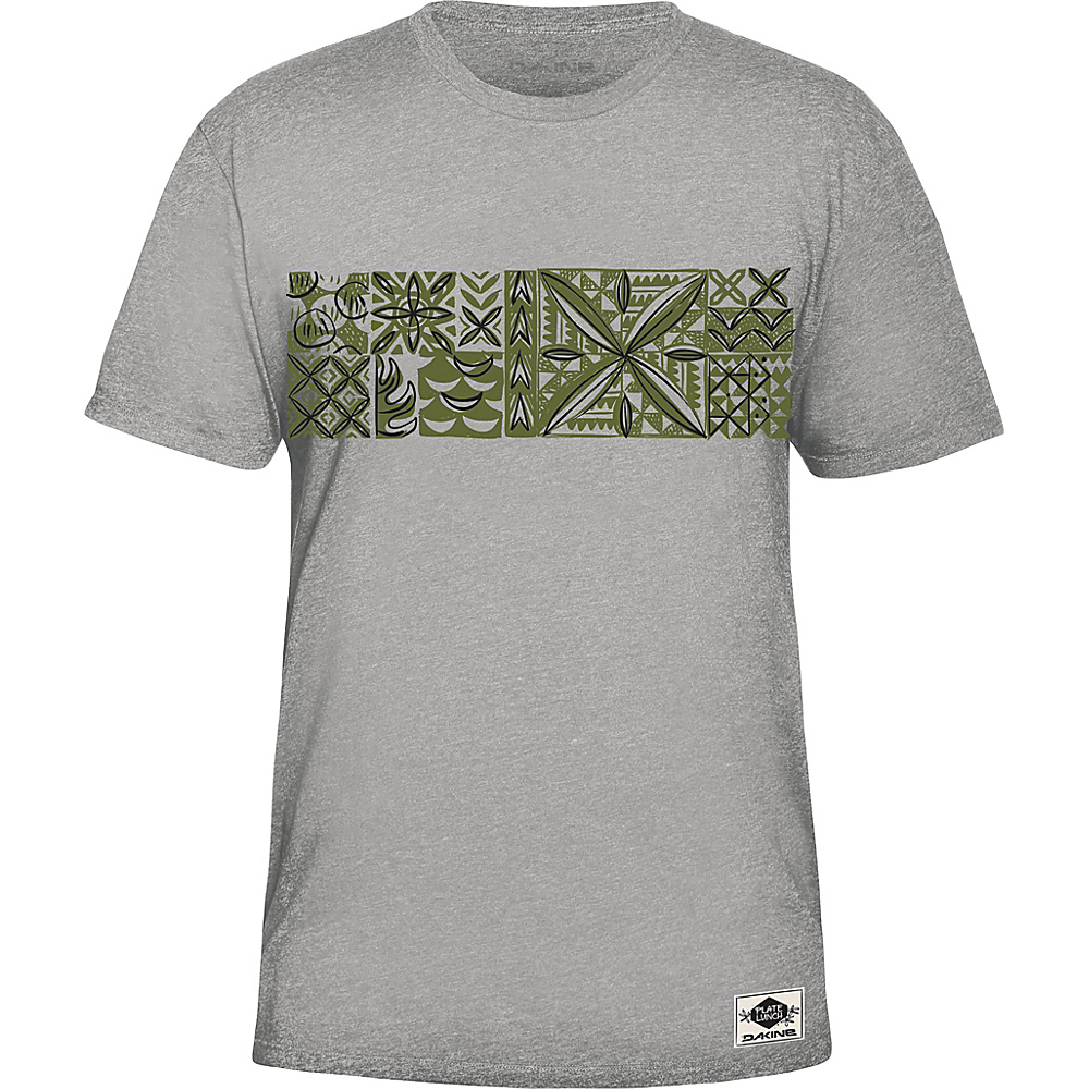 DAKINE Mens Plate Lunch T-Shirt L - Heather Grey - DAKINE Mens Apparel - Apparel & Footwear, Men's Apparel