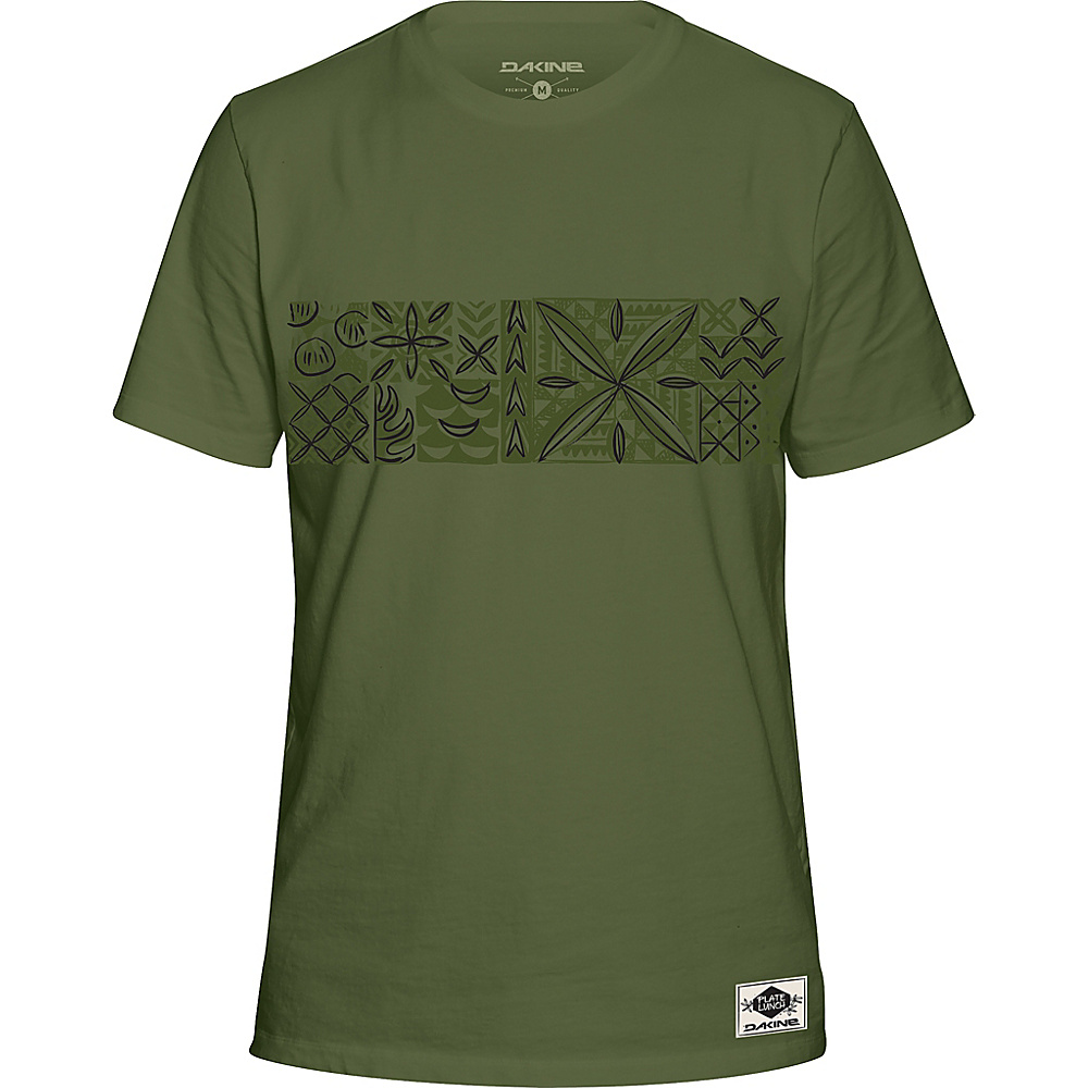 DAKINE Mens Plate Lunch T-Shirt L - Army - DAKINE Mens Apparel - Apparel & Footwear, Men's Apparel