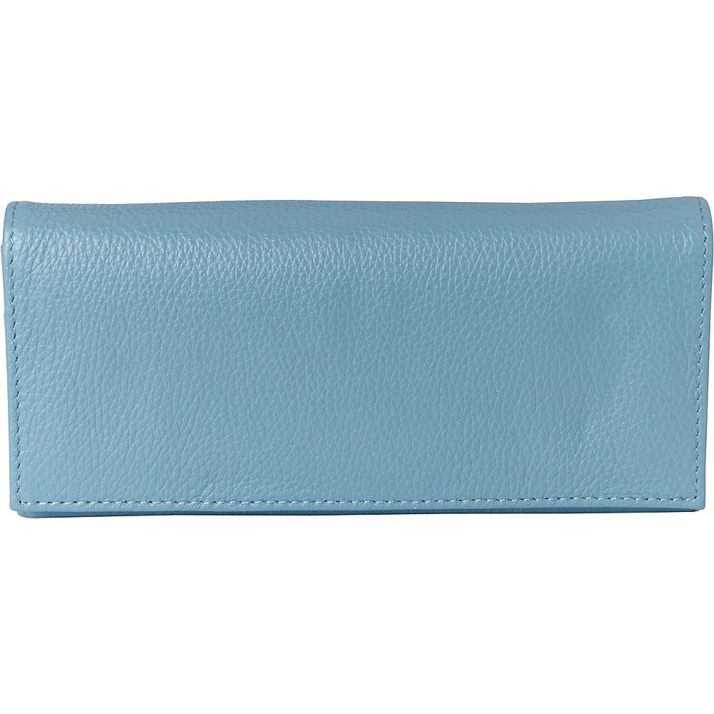 Buxton Florence Clutch Wallet Ocean Blue - Buxton Womens Wallets - Women's SLG, Women's Wallets