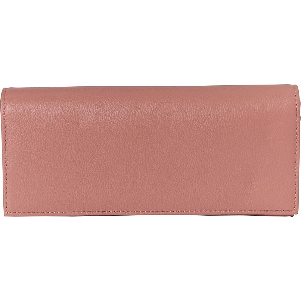 Buxton Florence Clutch Wallet Pink - Buxton Womens Wallets - Women's SLG, Women's Wallets