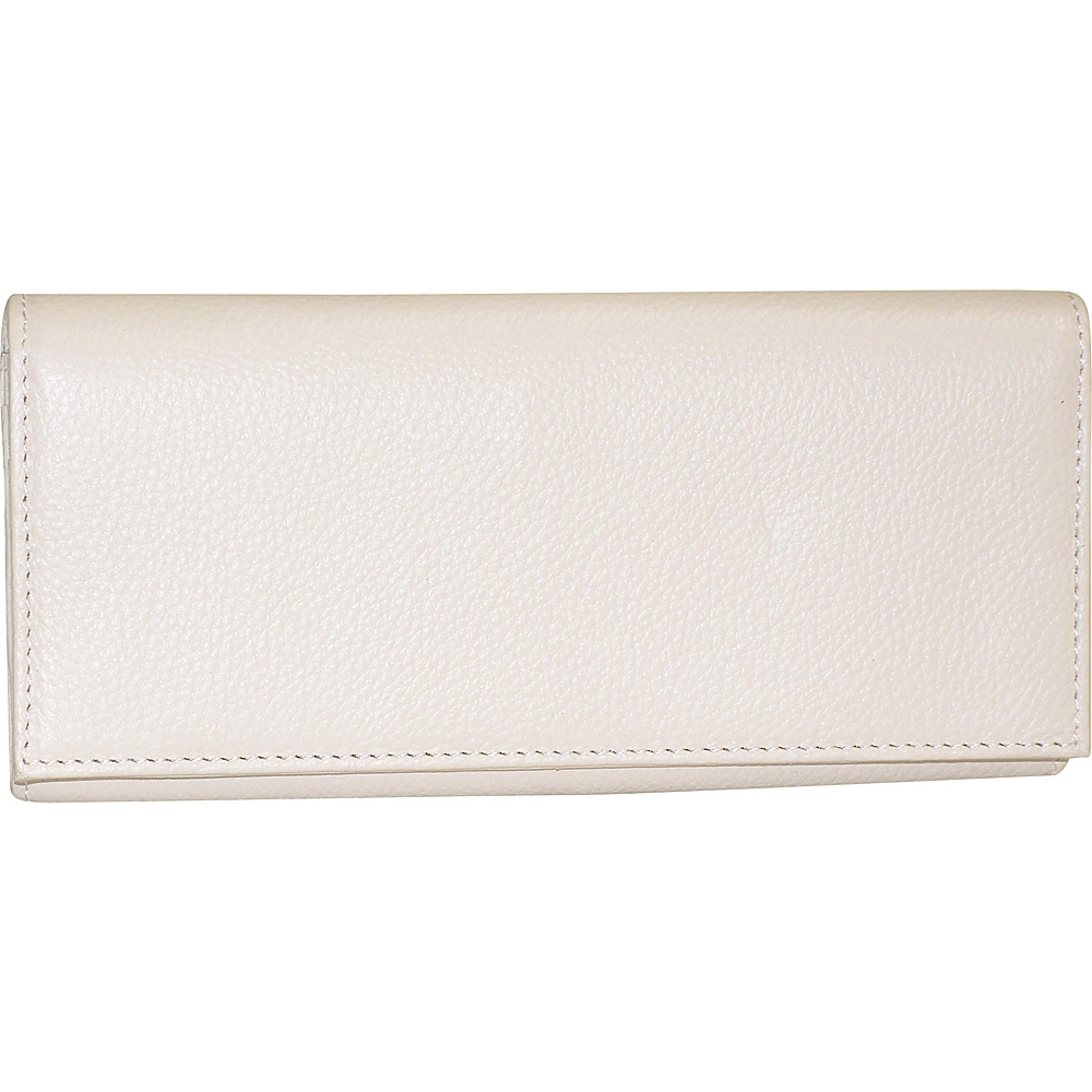 Buxton Florence Clutch Wallet White - Buxton Womens Wallets - Women's SLG, Women's Wallets