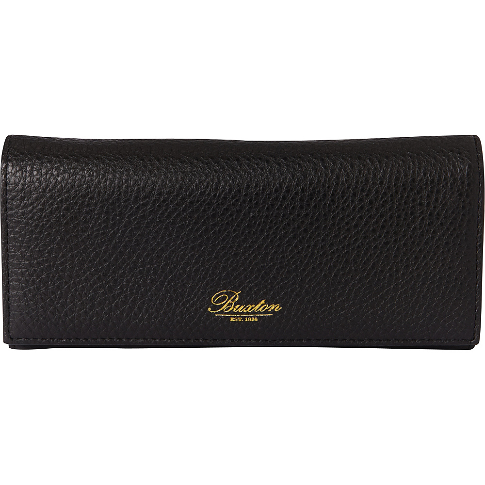 Buxton Florence Clutch Wallet Black - Buxton Womens Wallets - Women's SLG, Women's Wallets