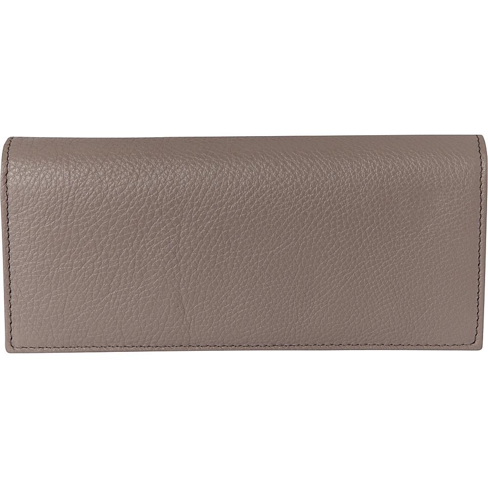 Buxton Florence Clutch Wallet Medium Grey - Buxton Womens Wallets - Women's SLG, Women's Wallets