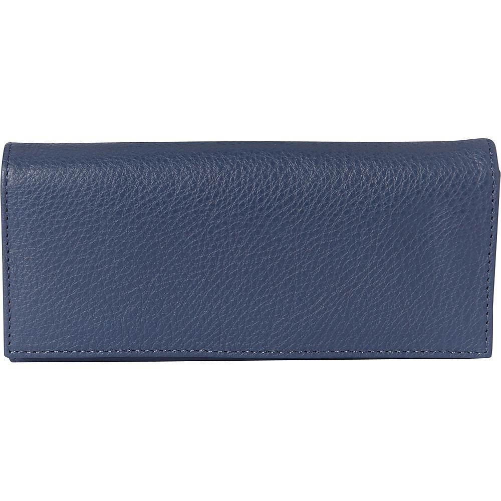 Buxton Florence Clutch Wallet Light Blue - Buxton Womens Wallets - Women's SLG, Women's Wallets