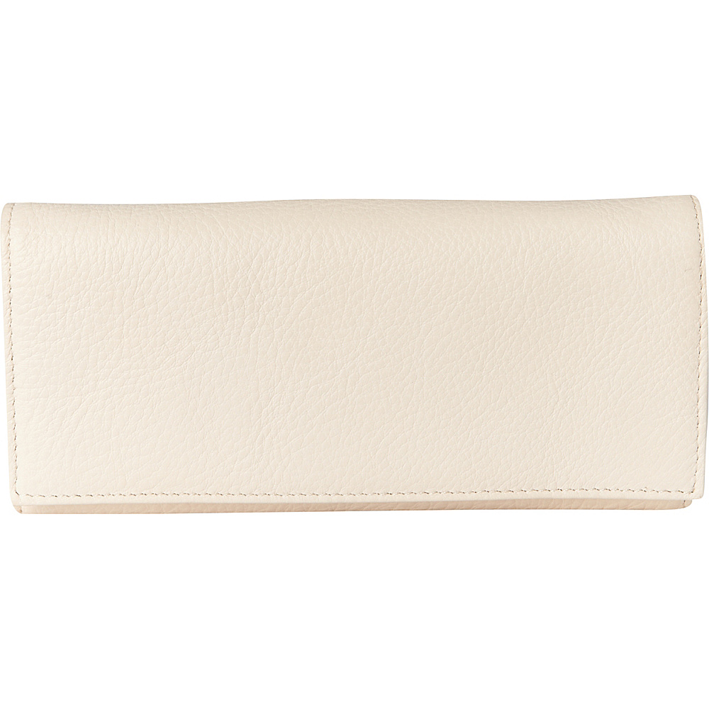 Buxton Florence Clutch Wallet Natural Beige - Buxton Womens Wallets - Women's SLG, Women's Wallets