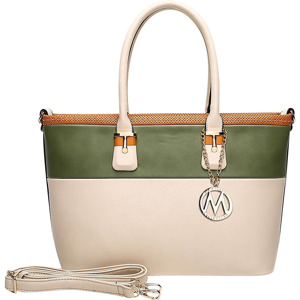 MKF Collection Raleigh Tote Beige - MKF Collection Manmade Handbags - Handbags, Manmade Handbags