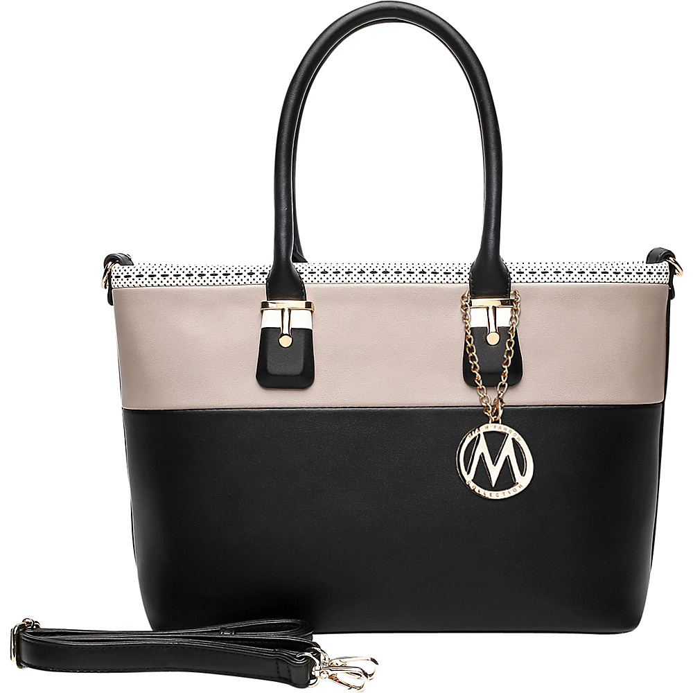 MKF Collection by Mia K. Farrow Raleigh Tote Black - MKF Collection by Mia K. Farrow Manmade Handbags - Handbags, Manmade Handbags