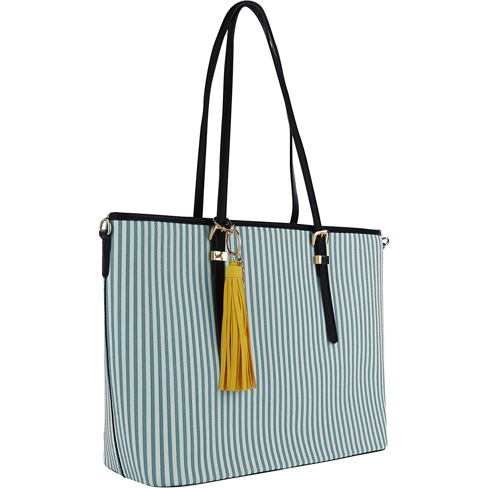 MKF Collection by Mia K. Farrow Secret Tote Light Blue - MKF Collection by Mia K. Farrow Manmade Handbags - Handbags, Manmade Handbags