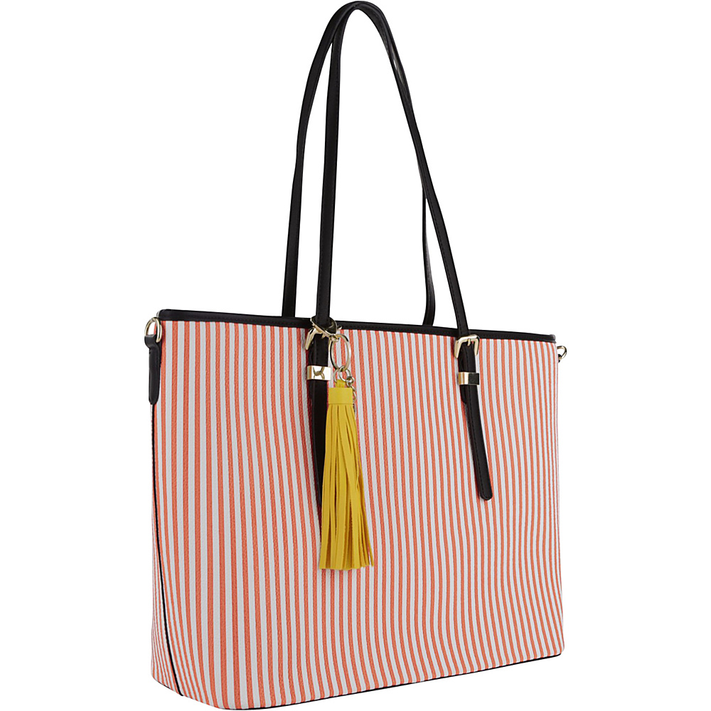 MKF Collection by Mia K. Farrow Secret Tote Orange - MKF Collection by Mia K. Farrow Manmade Handbags - Handbags, Manmade Handbags