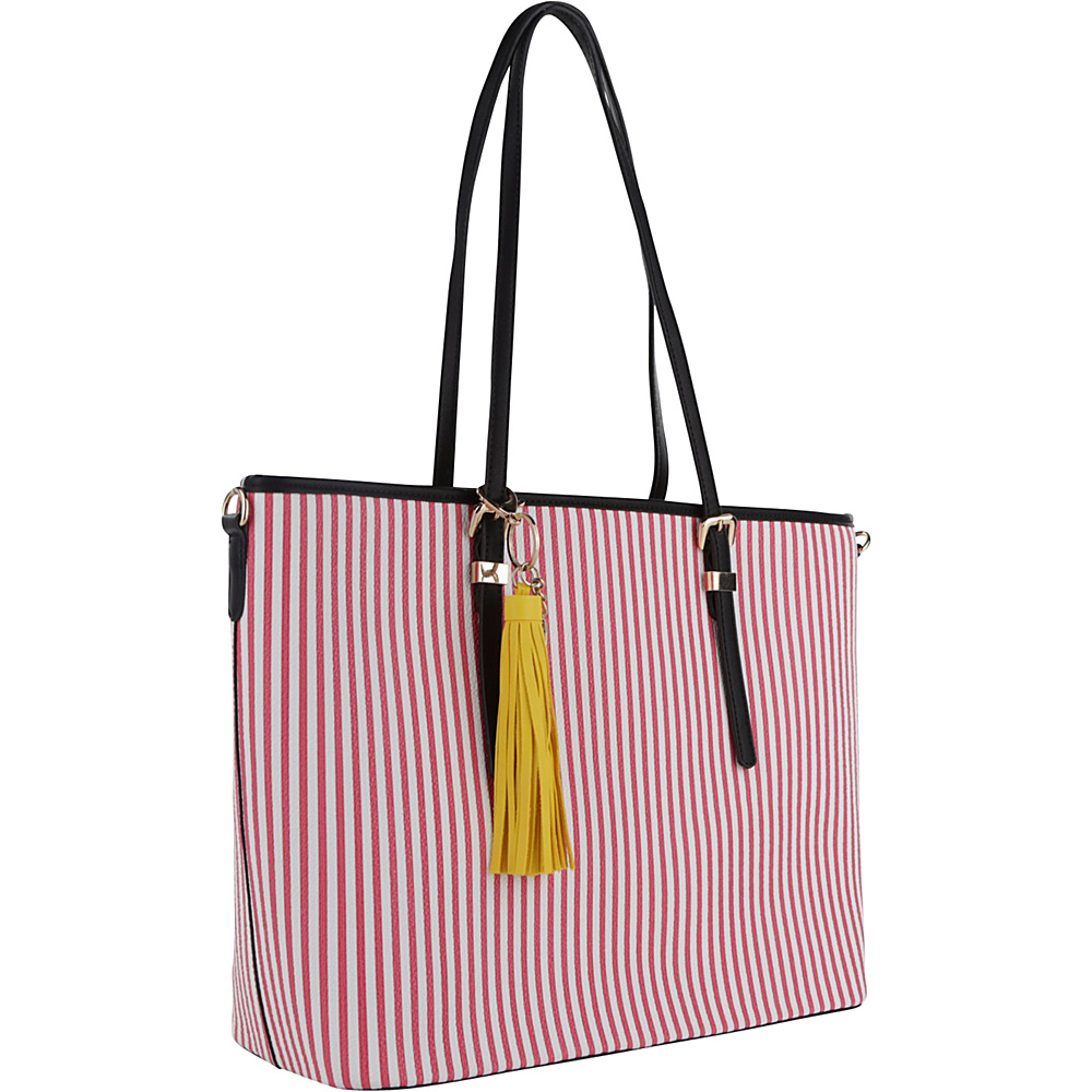 MKF Collection by Mia K. Farrow Secret Tote Pink - MKF Collection by Mia K. Farrow Manmade Handbags - Handbags, Manmade Handbags