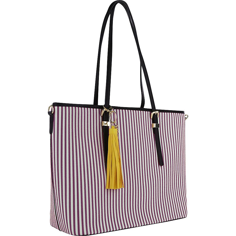 MKF Collection Secret Tote Purple - MKF Collection Manmade Handbags - Handbags, Manmade Handbags
