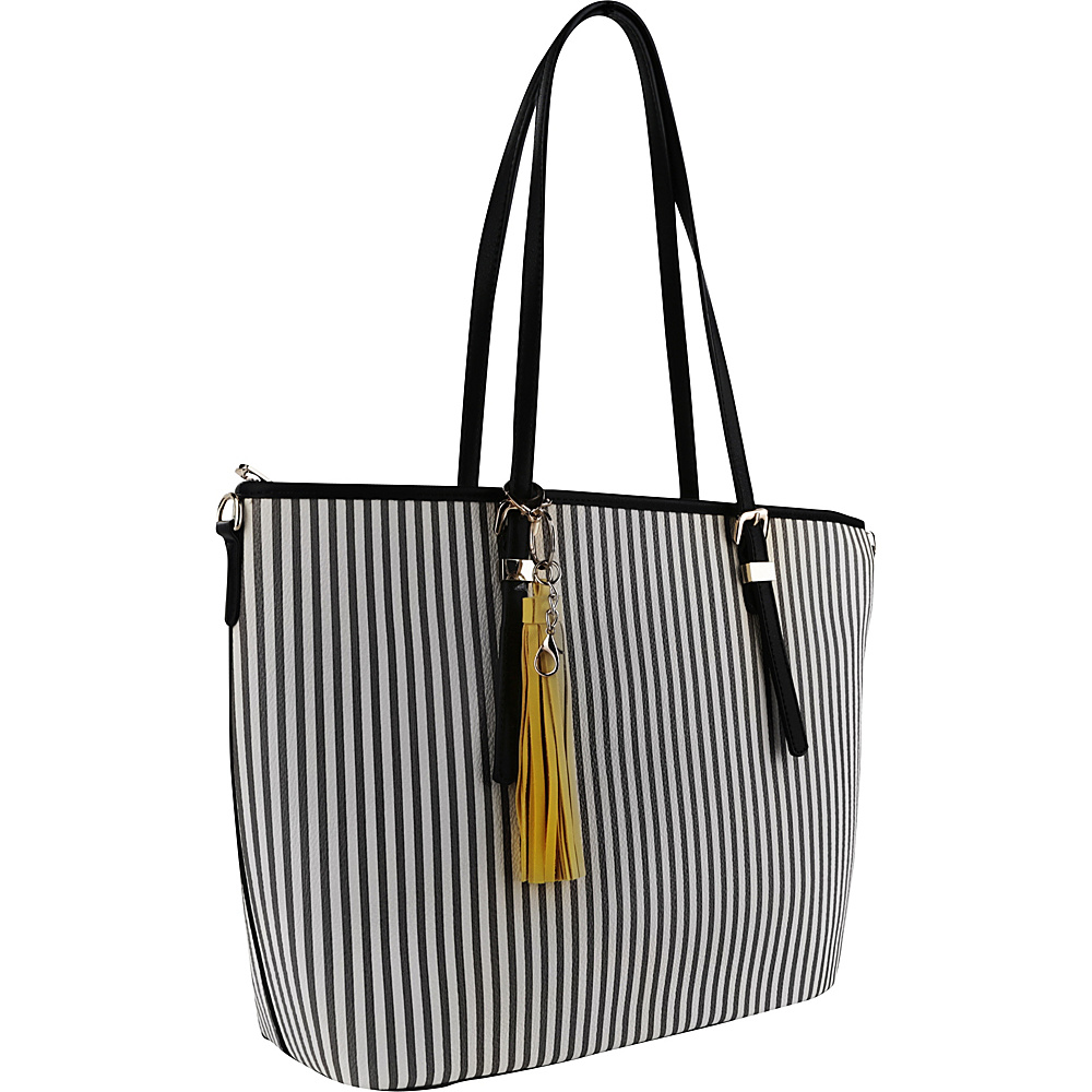 MKF Collection by Mia K. Farrow Secret Tote Black - MKF Collection by Mia K. Farrow Manmade Handbags - Handbags, Manmade Handbags