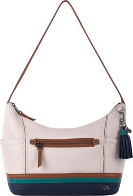 The Sak Kendra Hobo- Seasonal Colors Monterey Stripe - The Sak Leather Handbags