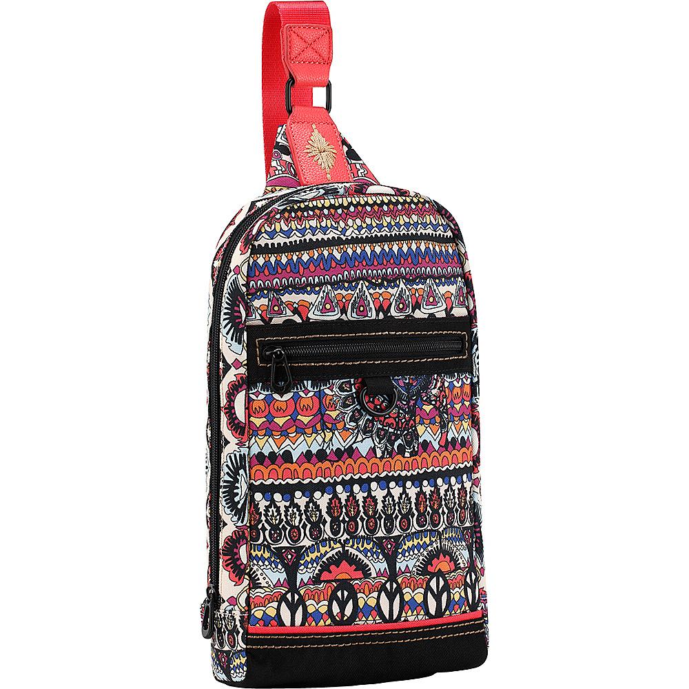 Sakroots New Adventure Hiker Sling Backpack Camel One World - Sakroots Backpacking Packs - Outdoor, Backpacking Packs
