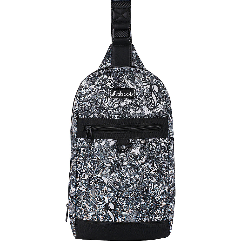 Sakroots New Adventure Hiker Sling Backpack Black & White Spirit Desert - Sakroots Backpacking Packs - Outdoor, Backpacking Packs