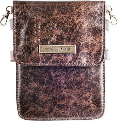 SmarterGarter Dakota 4.0 Hands-Free Purse Dark Chocolate - Small